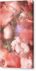 Fall Colors 4 Acrylic Print by Susan Kinney