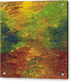 Fall Impressions Acrylic Print by Patty Vicknair