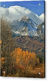 Fall In British Columbia Acrylic Print by Marty Koch