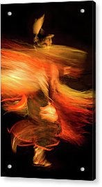 Fancy Dancer Acrylic Print by Jeremiah Armstrong