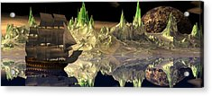 Fantasy Quest Acrylic Print by Claude McCoy