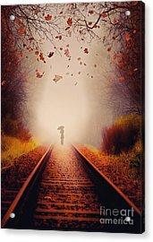 Farewell Acrylic Print by Svetlana Sewell