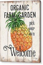 Farm Garden 1 Acrylic Print by Debbie DeWitt