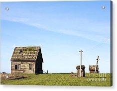 Farm House, Mendoncino, California Acrylic Print by Paul Edmondson