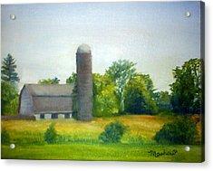 Farm In The Pine Barrens  Acrylic Print by Sheila Mashaw