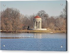 Fdr Park - South Philadelphia Acrylic Print by Bill Cannon