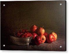 Feast Of Fruits Acrylic Print by Tom Mc Nemar