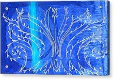 Feathers Acrylic Print by Nina Bravo