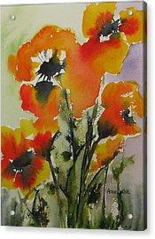 Felicity Acrylic Print by Anne Duke
