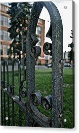 Fence Acrylic Print by Brynn Ditsche