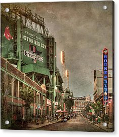Fenway Park - Boston Red Sox - Lansdowne St Acrylic Print by Joann Vitali