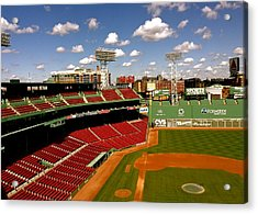 Fenway Park Iv  Fenway Park  Acrylic Print by Iconic Images Art Gallery David Pucciarelli