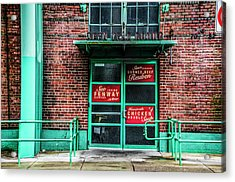 Fenway Park - The Bleacher Bar Acrylic Print by Bill Cannon