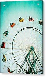 Ferris Wheel 2 Acrylic Print by Kim Fearheiley