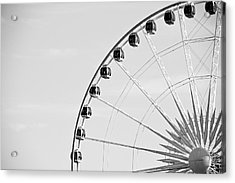 Ferris Wheel Acrylic Print by Edward Myers