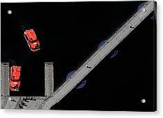 Ferry To Wonderland Acrylic Print by Cristian Kirshbom