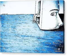Fertile Imagination Acrylic Print by Paulo Zerbato