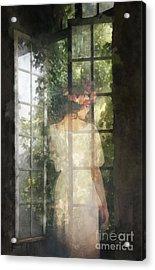 Fidelity Acrylic Print by Mo T