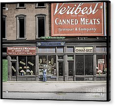 Fifth Avenue Colourised Acrylic Print by Russ Brown