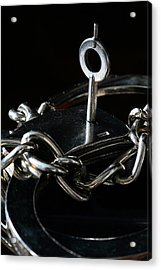Fifty Shades Of Steel  Acrylic Print by JC Findley