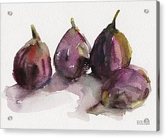 Fig Season Acrylic Print by Beverly Brown