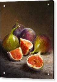 Figs Acrylic Print by Robert Papp