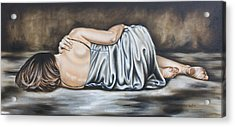 Figure Hundred And Fifteen Of Seven  Acrylic Print by Ilse Kleyn