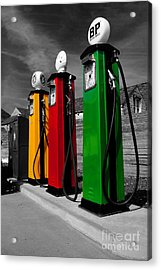 Fill Her Up Acrylic Print by Rob Hawkins