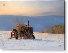 Final Resting Place Acrylic Print by Lori Deiter