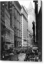 Financial Center, C1920 Acrylic Print by Granger