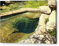 Fine Art America Pic 119 Jacobs Well Acrylic Print by Darrell Taylor