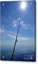 Fine Day For Fishing Acrylic Print by Sandra Updyke