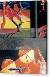 Fine Nice Acrylic Print by B and C Art Shop