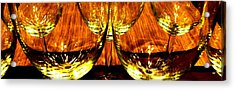 Fine Wine And Dine 3 Acrylic Print by Will Borden
