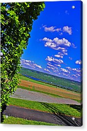 Finger Lakes Country Acrylic Print by Elizabeth Hoskinson