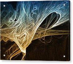 Fire In The Soul Acrylic Print by Mark Denham