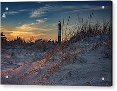 Fire Island Dunes Acrylic Print by Rick Berk