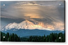Fire On The Mountain Acrylic Print by Loree Johnson