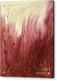 Fire Acrylic Print by Silvie Kendall