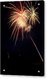 Fireworks 49 Acrylic Print by James BO  Insogna