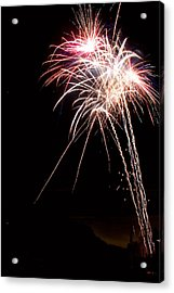 Fireworks 70 Acrylic Print by James BO  Insogna