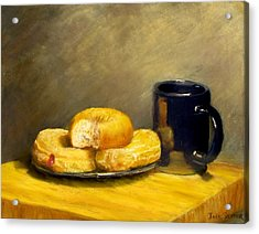 First Call...breakfast Acrylic Print by Jack Skinner