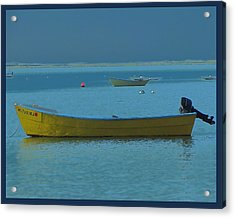 first light - Cape Cod Bay Acrylic Print by Rene Crystal