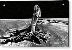 First Men On The Moon Acrylic Print by David Lee Thompson