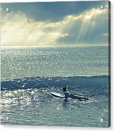 First Of The Day Acrylic Print by Laura Fasulo