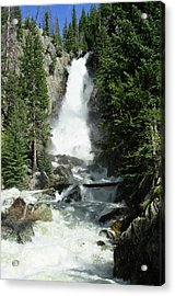 Fish Creek Falls Acrylic Print by Julie Rideout