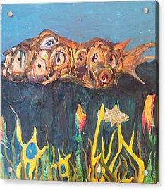 Fish Acrylic Print by William Douglas