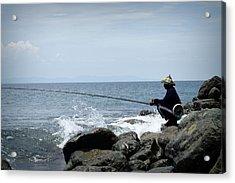 Fisherman 2  Acrylic Print by Shawna Gibson