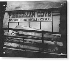 Fisherman Cove Acrylic Print by Michael L Kimble