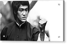 Fist Of Fury Acrylic Print by Daniel Hagerman